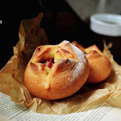芝士熔岩面包