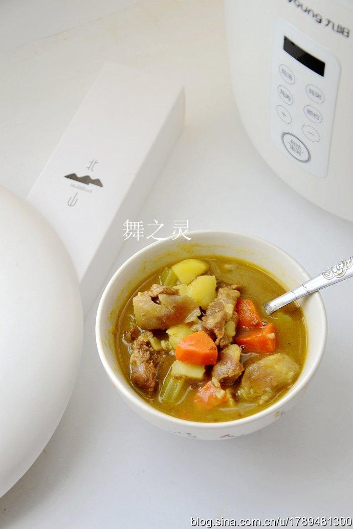 牛肉咖喱饭