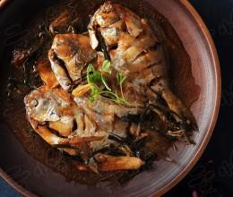 酱油水烧平鱼
