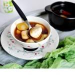 桂花芋頭甜湯