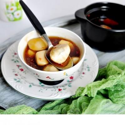 桂花芋头甜汤