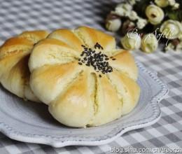 超柔软花朵椰蓉面包(中种法)