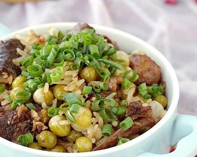 豌豆雞米飯