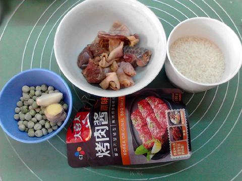 豌豆鸡米饭