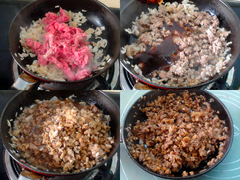低脂蘑菇牛肉咸派