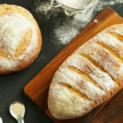 托斯卡納無鹽面包
