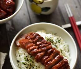 平底锅叉烧肉