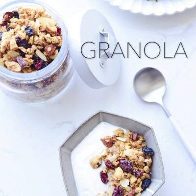 减肥早餐-格兰诺拉麦片