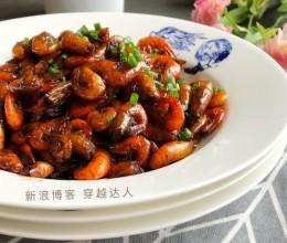 下酒菜-油煸小虾