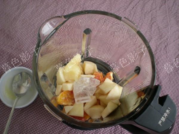 橙子白梨蜂蜜汁-解酒消食,止咳润肺抗雾霾