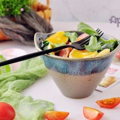 减肥早餐-冰草甜橙沙拉
