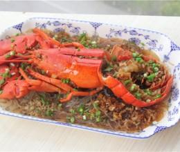 家宴菜谱-蒜蓉粉丝蒸龙虾