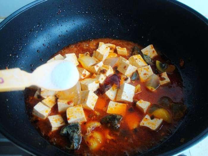 皮蛋烧豆腐