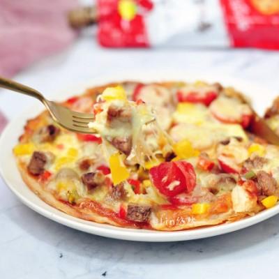 十五分钟的早餐懒人披萨
