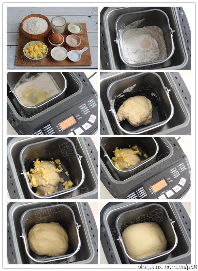 黄油卷小餐包