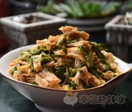 香椿拌腐竹