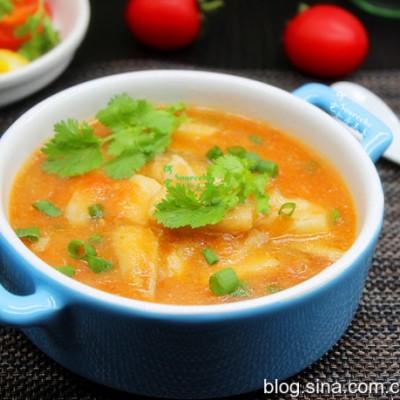 番茄鳕鱼汤
