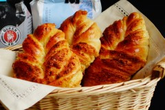 椰蓉叶子面包