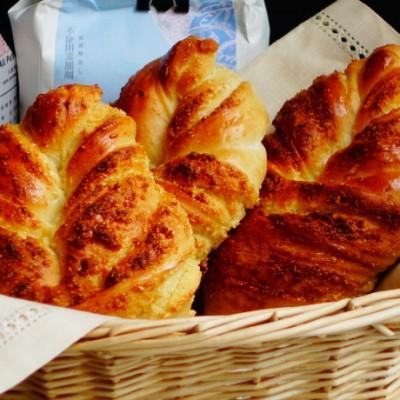 椰蓉葉子面包
