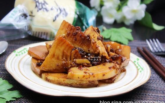 黃磊油燜筍
