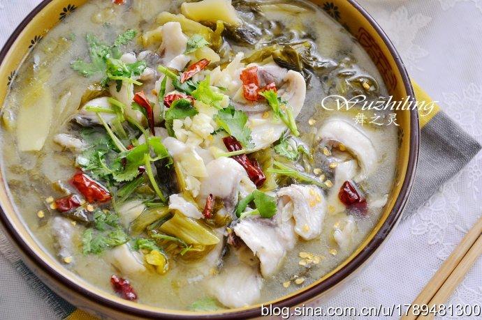 酸菜鱼片锅