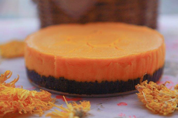 欲罢不能的南瓜重乳酪蛋糕