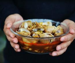 超级美味的朋友圈美食麻辣肥蛤做法