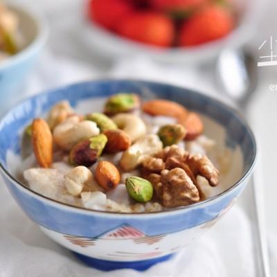 香芋坚果燕麦粥