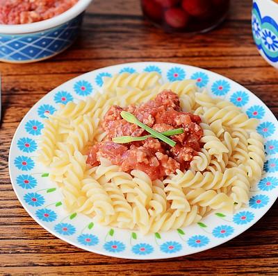 番茄醬螺旋意面-萬能意面醬