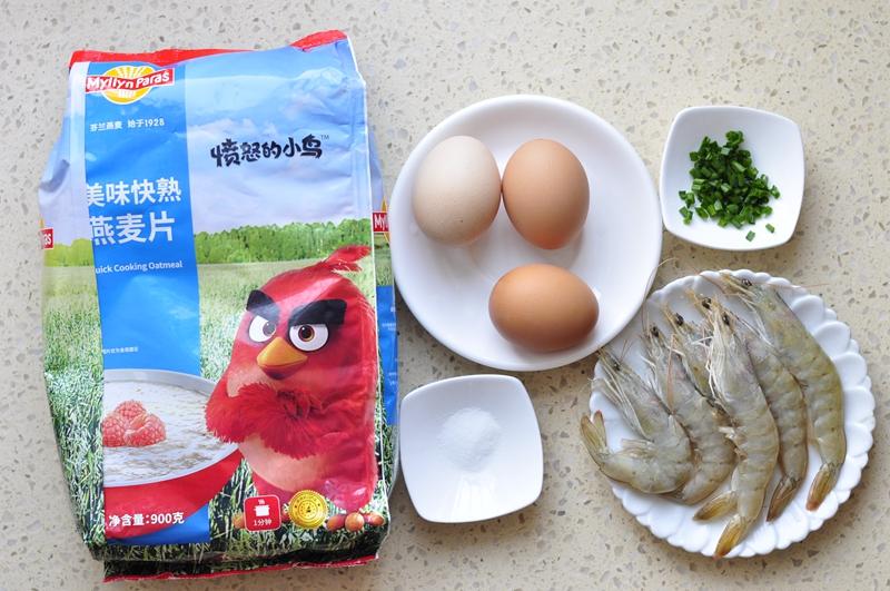 燕麦虾仁炖蛋