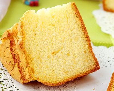 焦糖法罗夫戚风蛋糕