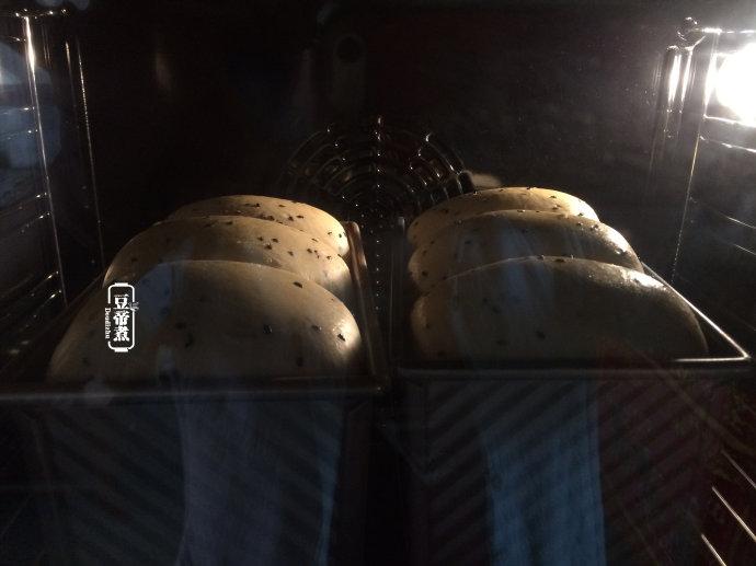 黑芝麻吐司-乌发补肝益血
