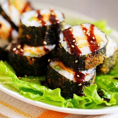 春游輕食料理-香酥豬排壽司卷
