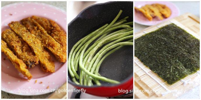 春游轻食料理-香酥猪排寿司卷