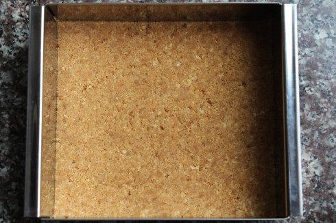 抹茶白巧克力冻芝士条