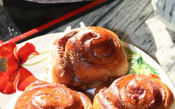 【肉桂面包卷Cinnamon?Buns】?--?#颜值和口味都清新又软萌#