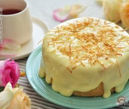 网红爆浆海盐奶盖蛋糕