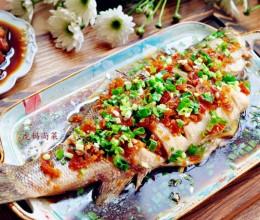 清蒸鱼的做法-泡椒蒸鲈鱼