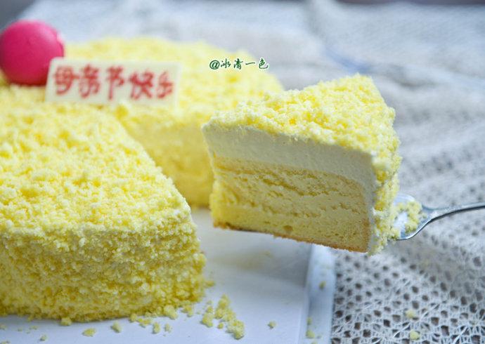 网红北海道双层芝士蛋糕