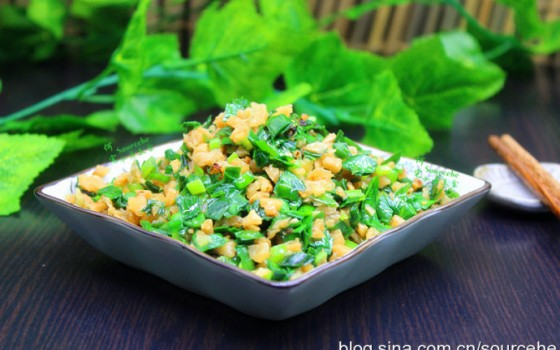 韭菜炒萝卜干
