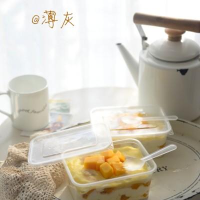 芒果千层蛋糕盒子