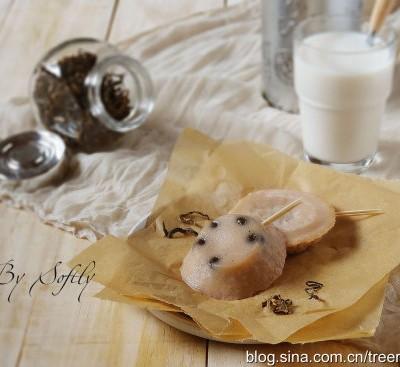 珍珠奶茶味钵仔糕