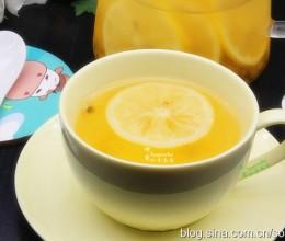 柠檬百香果花茶