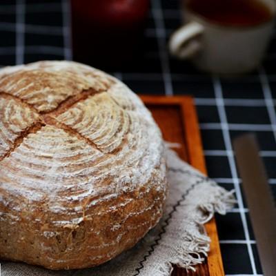 免揉麥香面包