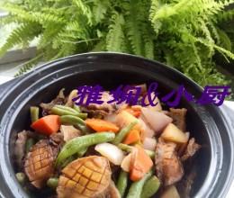 杂蔬烧鲍鱼