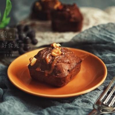 香蕉黑巧瑪芬蛋糕