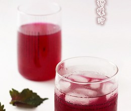 紫苏柠檬汁