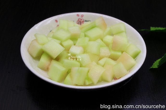 西瓜皮绿豆糖水