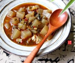 酸菜炒魔芋豆腐