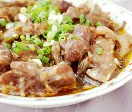 腌豇豆蒸鸡